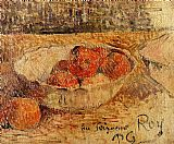 Paul Gauguin Fruit in a Bowl painting